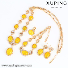 64009 fashion best selling 18k new design delicate elegant bohemia ethnic style jewelry sets