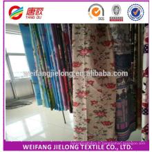 100% polyester rotatif 3D drap de lit en tissu pour le marché de l'Inde