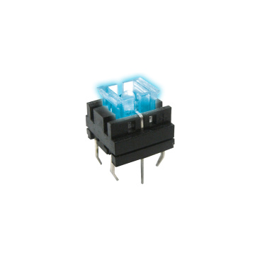 IP67 SPST High Sensitive LED Toque Tact Switch