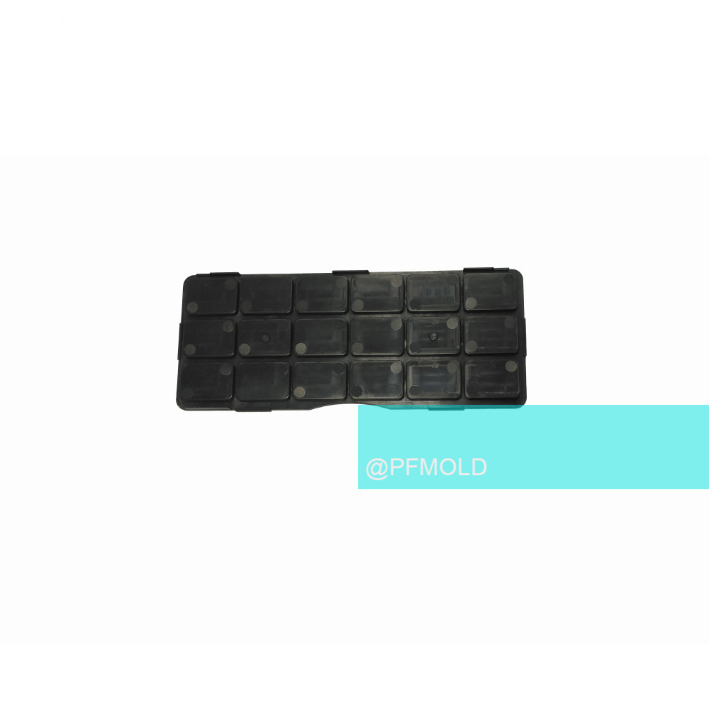 Flexible thinwall plastic injection mould  for keyboard