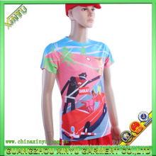2016 Wholesale Fashion 3D Sublimation Printing Men T Shirt