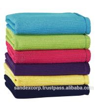 serviettes de toilette en lin