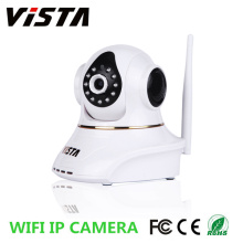 720P Wireless Wall Mounted Memory Card IP Camera RJ45
