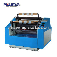 Aoxiang bopp fita adesiva duplex rebobinador rebobinadeira de alta qualidade