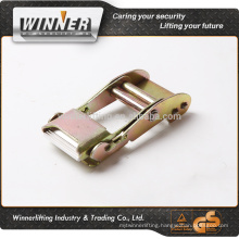"2"" Custom logo trade assurance supplier golden center bar buckle"