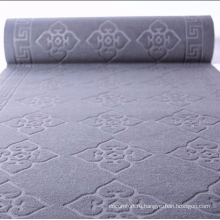 Мягкий велюровый пылезащитный коврик с тиснением