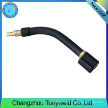 Piezas de soldadura MB 15AK cuello de cisne MIG / MAG piezas de recambio de CO2