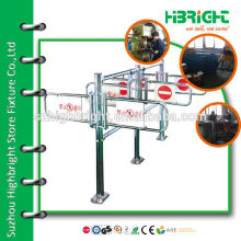 security turnstile gate Manual swing barrier gate for supermarket