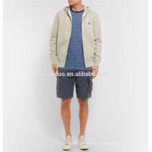 Calças curtas dos homens lavados calções casuais esporte vestido para homens