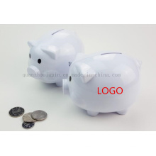 OEM Logo Ceramic Decorative Craft Piggy Bank for Promotional Gift