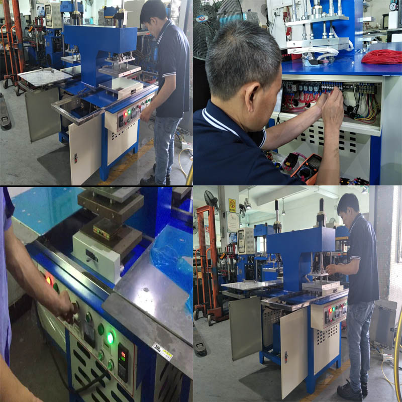 Automatic Leather Label Embossing Machine