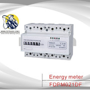 Three Phase Four Wire Electronic DIN-Rail Active Energy Meter (FDPM021DF)