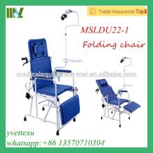 MSLDU22-1M Qualitäts-preiswerter faltender zahnmedizinischer Stuhl Chinesische faltbare zahnmedizinische Stühle für Verkauf