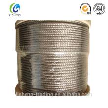 Cordage en acier galvanisé 6x7 + Fc en bobines