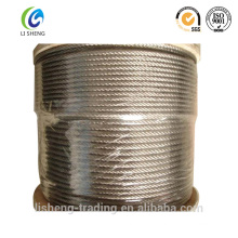 Galvanized Steel Wire Rope 6x7+Fc In Coils