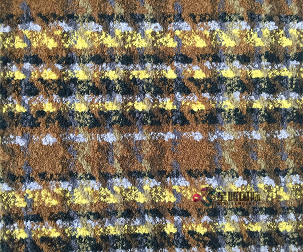Colorful Tweed Textile