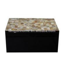 freshwater shell velvet jewelry gift boxes