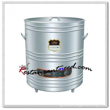 K662 Interlayer Isolamento Chaleira elétrica de sopa de cozinha elétrica aquecida