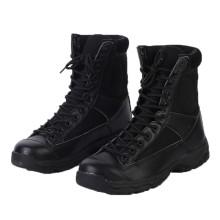 Gute Qualität Schwarze Polizei Taktische Stiefel