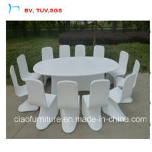 12 Seater Dining Chair with Rattan Dining Set (2064T+2072C)