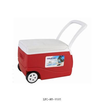 Boîte de refroidisseur de roue, refroidisseur en plastique, refroidisseur de canette de bière