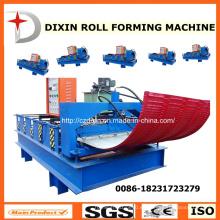 Máquina de doblar trapezoidal del rodillo del tejado de Dx