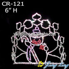 Jingling 2015 new design crown and Holiday Crowns