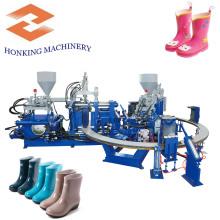 Máquina de botas de chuva de duas cores