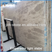 High quality brown statuary marble slab
