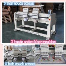 HOLiAUMA Domestic 2 Head 15 Needles Comercio e Industria Máquina de bordado computarizado para uso comercial e industrial