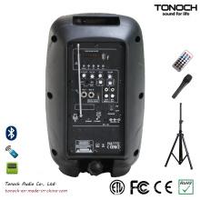 Fonte de Fábrica Portable 8 Inches PA Speaker plástico com função Multi