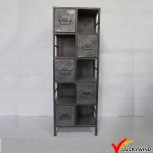 Verzinkte Vintage Schubladen Metall File Cabinet Dividers