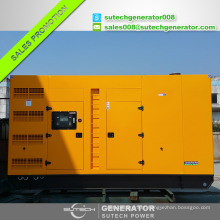 Soundproof diesel genset 750kva silent diesel generator 600kw price with Perkin engine 4006-23TAG2A