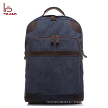 Personalizado mens câmera de lona mochila laptop sacos mochila