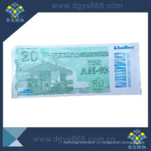 Security Fiber Paper Ticket Printing