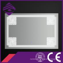 Jnh258 LED de salle de bains a allumé le miroir de meubles de mur avec l'écran tactile
