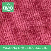Tissu en cuir 100% polyester en velours côtelé en velours côtelé