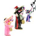 FQ nuevo diseño popular chino tradicional Sichuan Opera Face pequeña muñeca del arte