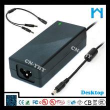 Pequeño tamaño llevado fuente de alimentación adaptador original de la CA del adaptador de la CA del adaptador de la corriente ALTERNA de la CA 12V 5A UL CE GS SAA 60W