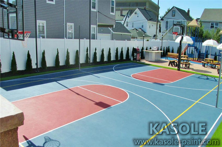 Basketball Court Pu Flooring