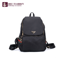 HEC Wholesale Girls Bag PVC PU Material High School Backpack
