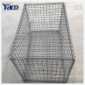 A melhor venda galvanizou a rede de arame da cesta da rocha dos produtos, malha de arame do gabion