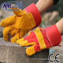 Gants de sécurité en cuir de vachette NMSAFETY