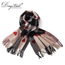 Wholesale Glitter Scarf Christmas Pashmina Lovely Wool Scarf For Holidays Gift