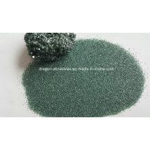 Carburo de silicio verde para la industria refractaria