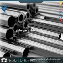 Jiangsu 201 tubo de aço inoxidável oco redondo na China