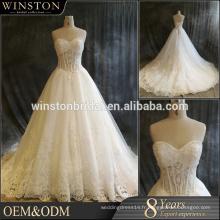Chine usine OEM suzhou jingbian robe de mariée