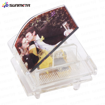 FREESUB Sublimation Fancy Crystal Photo Frame Wedding Gift