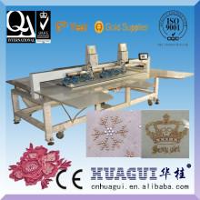 HUAGUI barato máquina de fixação de pedras preciosas para vestido