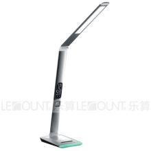 Lâmpada de mesa LED com base RGB e exibição de calendário (LTB807)